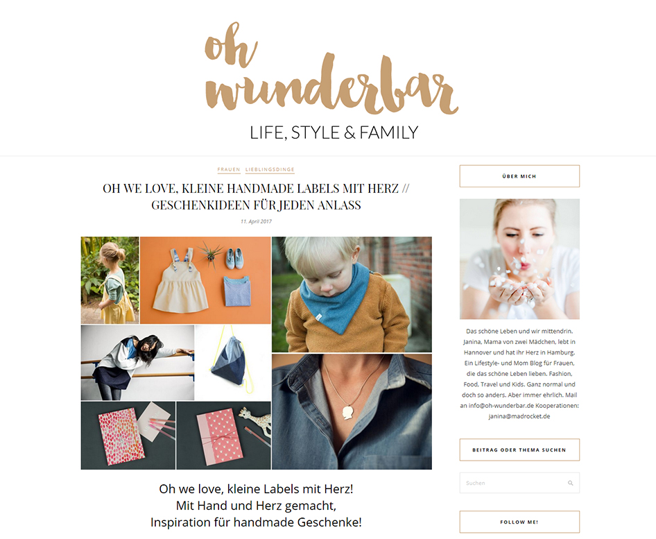 Blog Oh Wunderbar April 2017