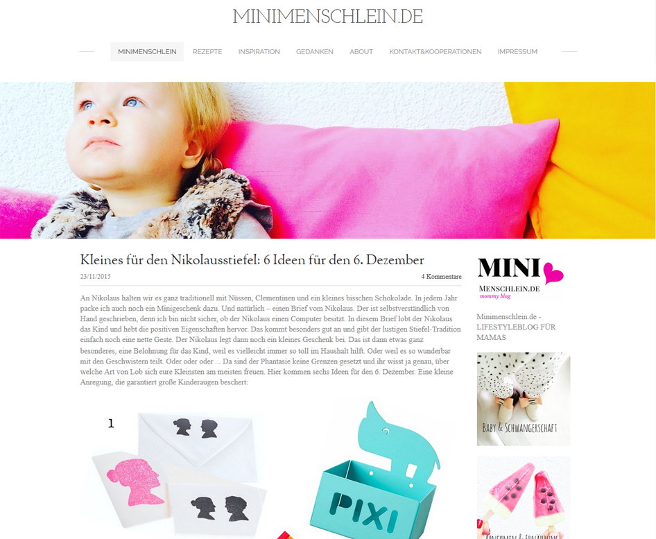 minimenschlein mommy blog