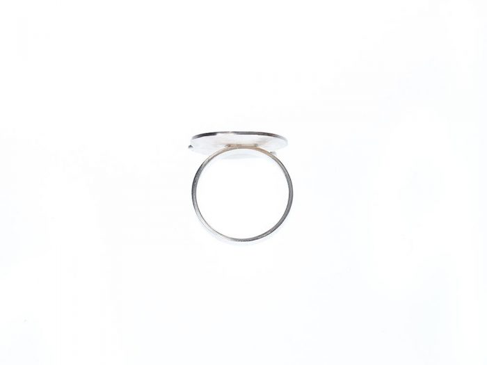 Ring recyceltes Silber